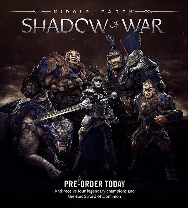 Shadow of War Preorder Bonus