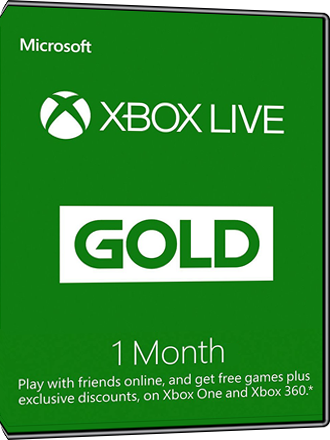 Xbox Live Gold - abonnement de 1 mois Screenshot