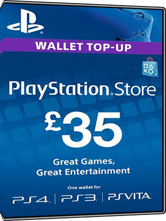 Playstation Network Card PSN Key 35 Pfund [UK] Screenshot
