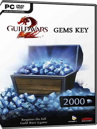 Clé 2000 gemmes Guild Wars 2 Screenshot