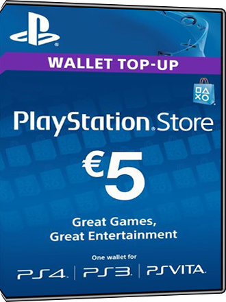 Carte Playstation Network 5 euros [FR] Screenshot