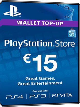 Carte Playstation Network 15 euros [FR] Screenshot