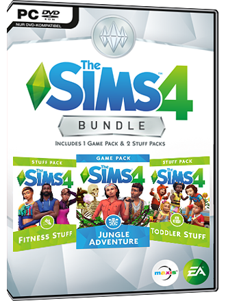 Les Sims 4 - Dans la jungle Bundle (DLC) Screenshot