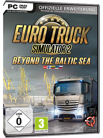 Euro Truck Simulator 2 - Beyond the Baltic Sea (DLC) - EU Key Screenshot