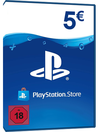 carte psn 5 euros PSN Card 5 Euros Espagne, Playstation Network   MMOGA