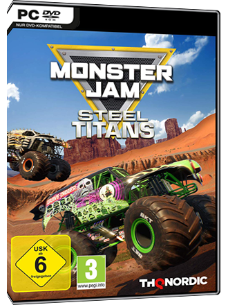 Monster Jam Steel Titans Screenshot