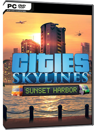 Cities Skylines - Sunset Harbor (DLC) Screenshot