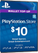 Playstation Network Card PSN Key 10 Dollar [USA]