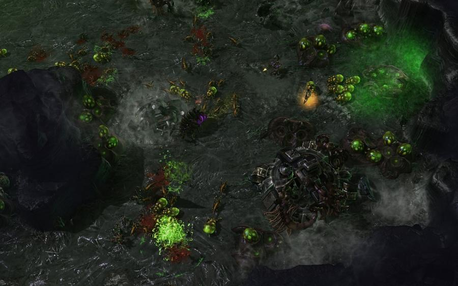 Starcraft 2 : Heart of the Swarm (UE) Screenshot 2