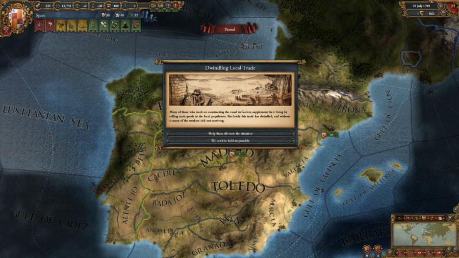 Europa Universalis IV - Wealth of Nations (extension) Screenshot 7