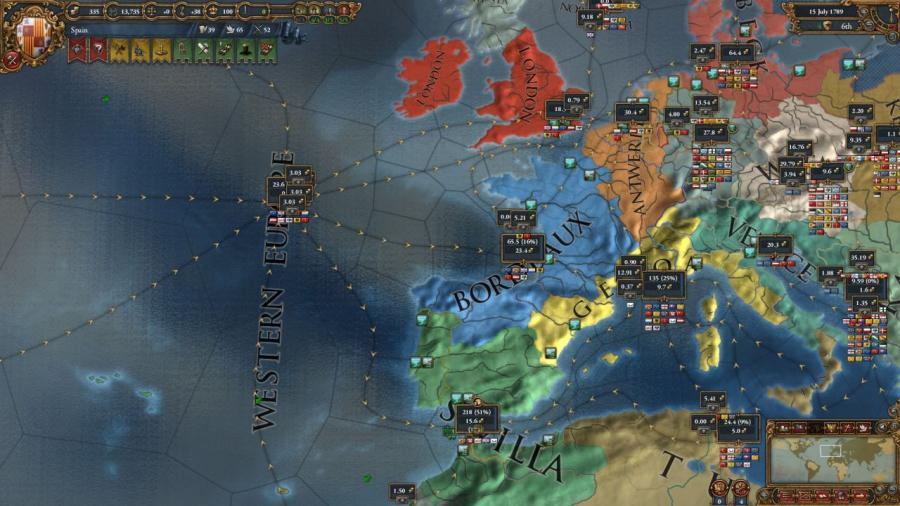 Europa Universalis IV - Wealth of Nations (extension) Screenshot 6