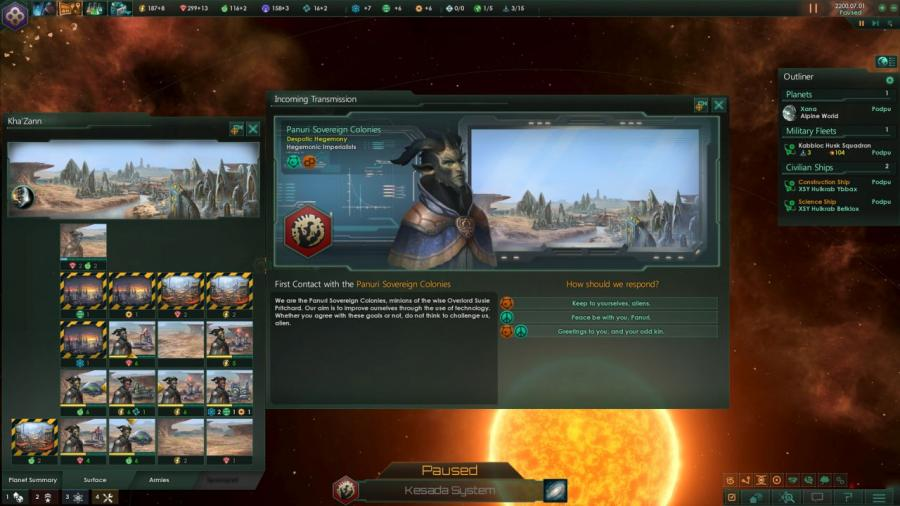 Stellaris - Humanoids Species Pack (DLC) Screenshot 1