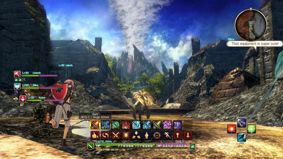 Sword Art Online: Hollow Realization - Deluxe Edition Screenshot 2