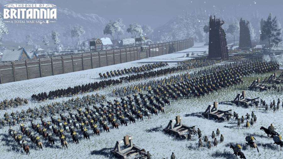 Total War Saga - Thrones of Britannia Screenshot 2
