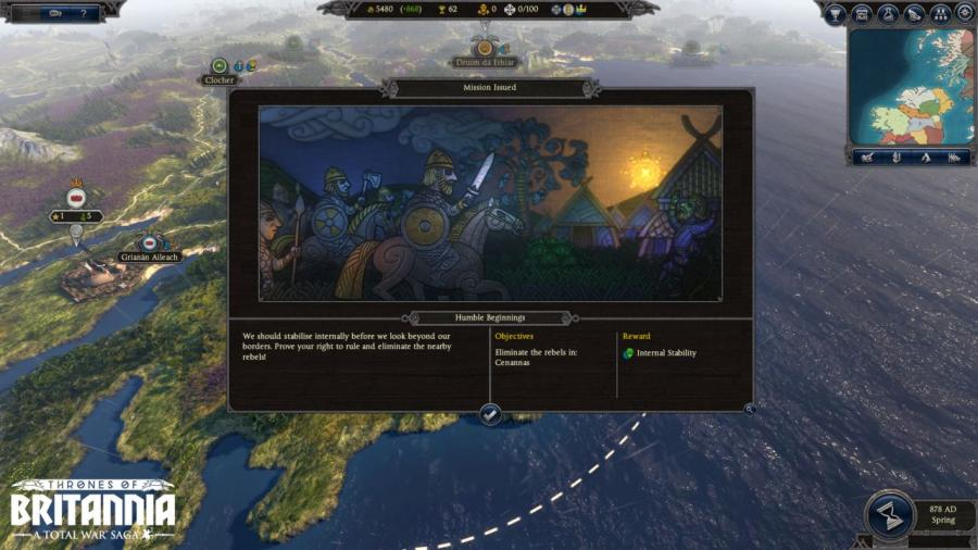 Total War Saga - Thrones of Britannia Screenshot 4