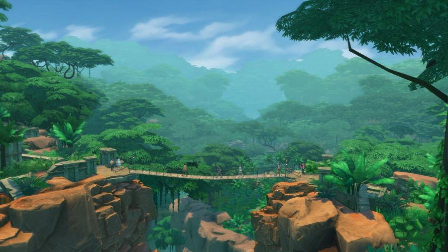 Les Sims 4 - Dans la jungle Bundle (DLC) Screenshot 3