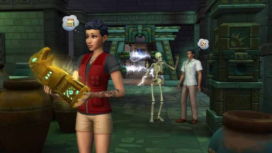 Les Sims 4 - Dans la jungle Bundle (DLC) Screenshot 2
