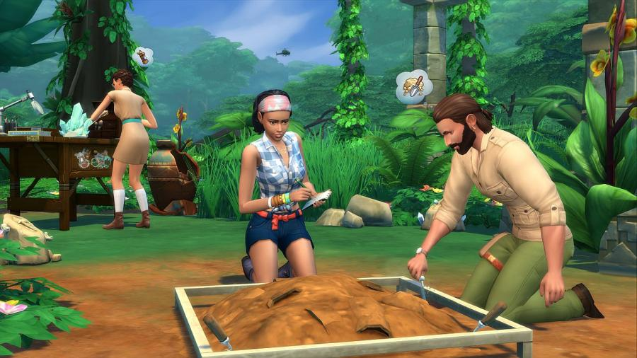 Les Sims 4 - Dans la jungle Bundle (DLC) Screenshot 5