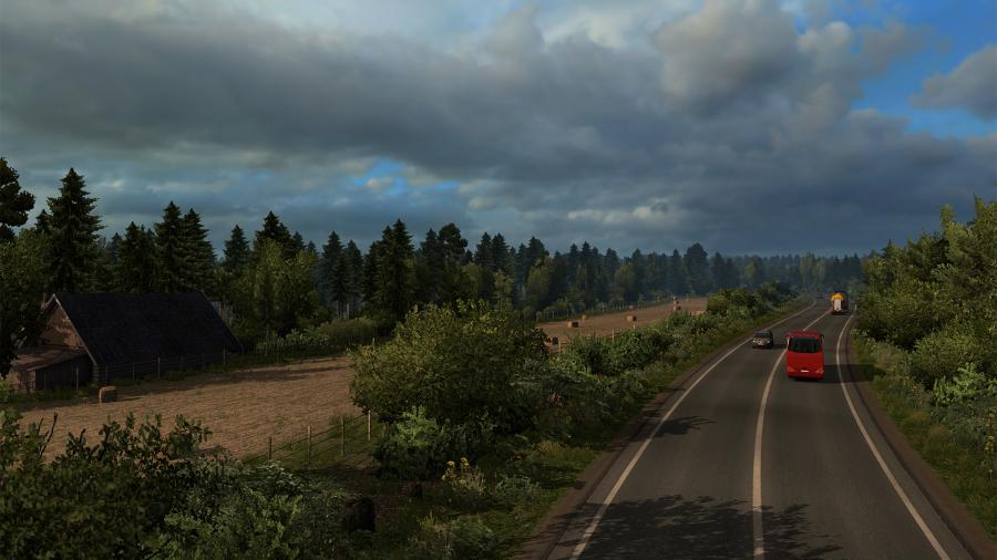 Euro Truck Simulator 2 - Beyond the Baltic Sea (DLC) - EU Key Screenshot 6