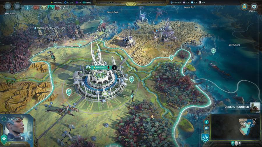 Age of Wonders - Planetfall Screenshot 3