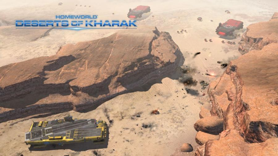 Homeworld - Deserts of Kharak Screenshot 5