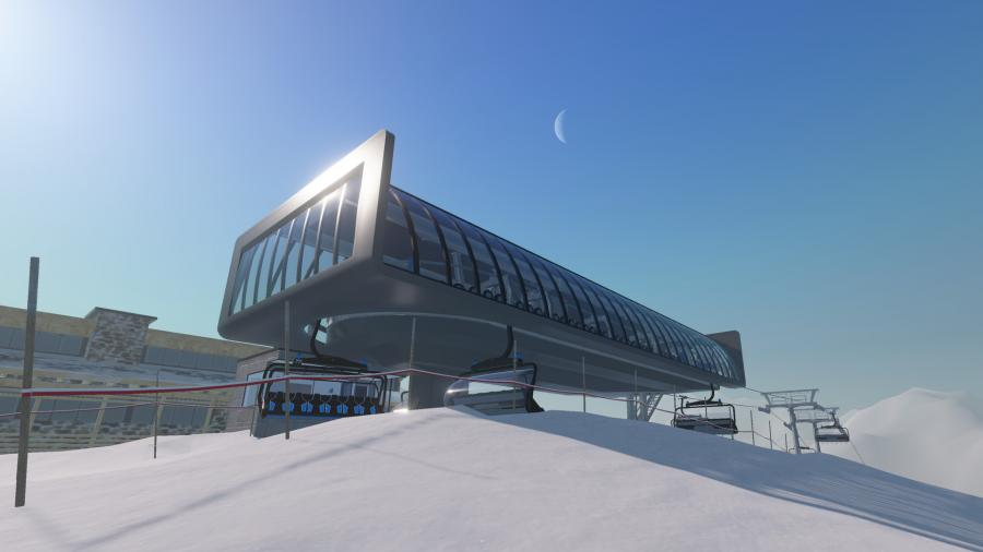 Winter Resort Simulator Screenshot 2