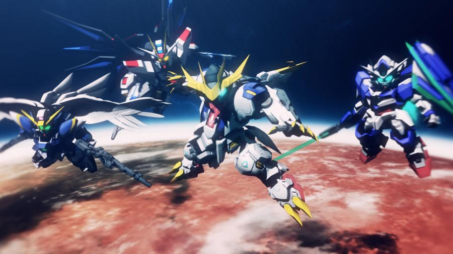SD Gundam G Generation Cross Rays Screenshot 6