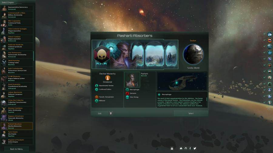 Stellaris - Necroids Species Pack (DLC) Screenshot 4