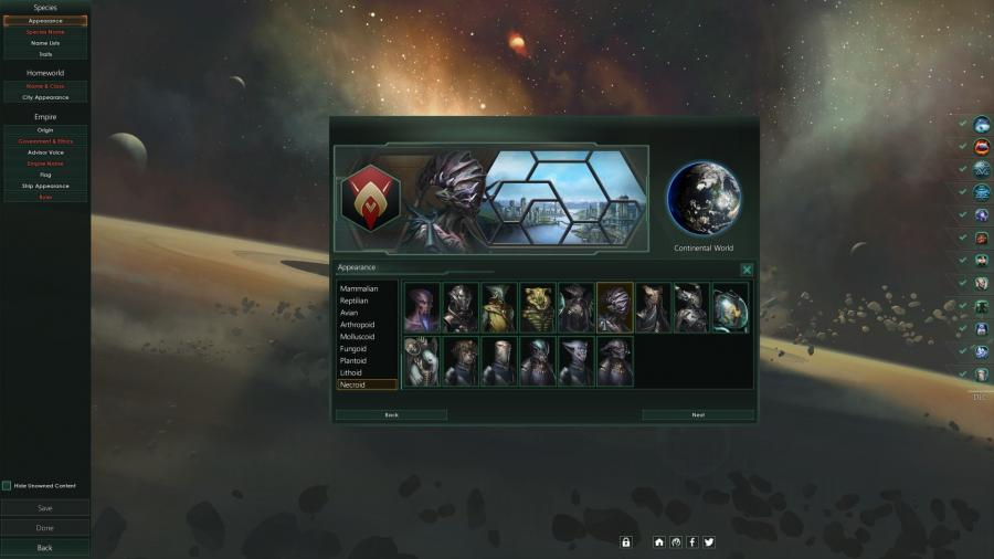 Stellaris - Necroids Species Pack (DLC) Screenshot 2