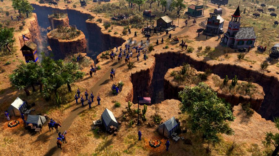 Age of Empires III Definitive Edition - United States Civilization (DLC) Screenshot 6