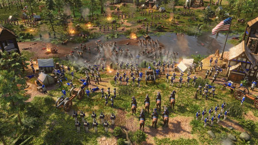 Age of Empires III Definitive Edition - United States Civilization (DLC) Screenshot 2